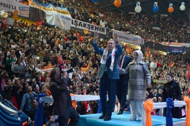 AK Parti İstanbul Belediye Başkan Adayları Tanıtım Töreni 16