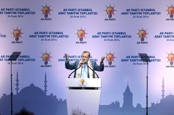 AK Parti İstanbul Belediye Başkan Adayları Tanıtım Töreni 4