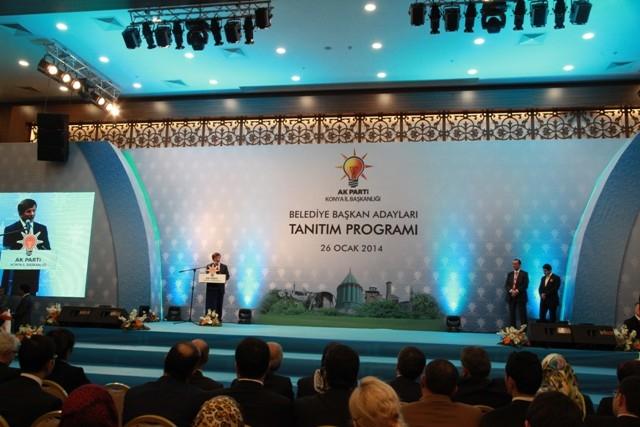 AK Parti Konya Belediye Başkan Adayları Tanıtım Toplantısı 1