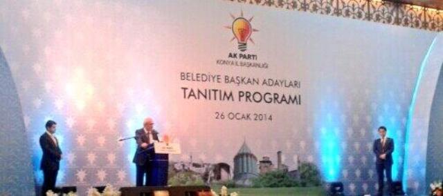 AK Parti Konya Belediye Başkan Adayları Tanıtım Toplantısı 10
