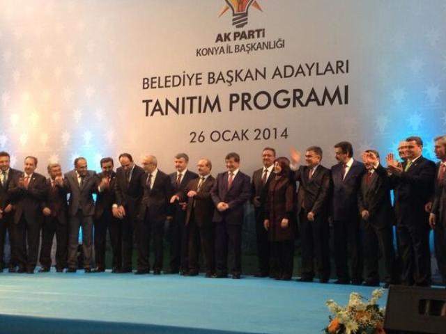 AK Parti Konya Belediye Başkan Adayları Tanıtım Toplantısı 12