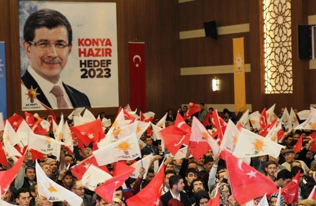 AK Parti Konya Belediye Başkan Adayları Tanıtım Toplantısı 15