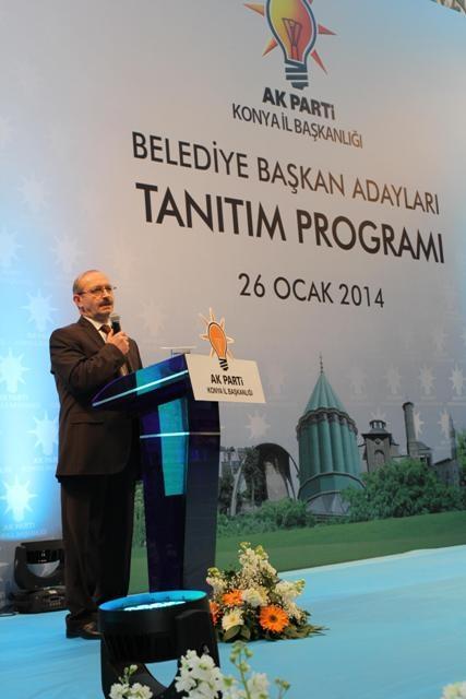 AK Parti Konya Belediye Başkan Adayları Tanıtım Toplantısı 19