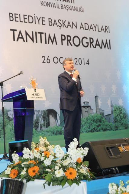 AK Parti Konya Belediye Başkan Adayları Tanıtım Toplantısı 21