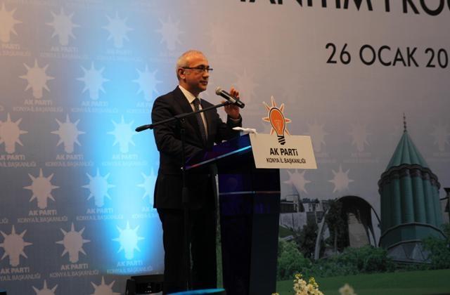 AK Parti Konya Belediye Başkan Adayları Tanıtım Toplantısı 22
