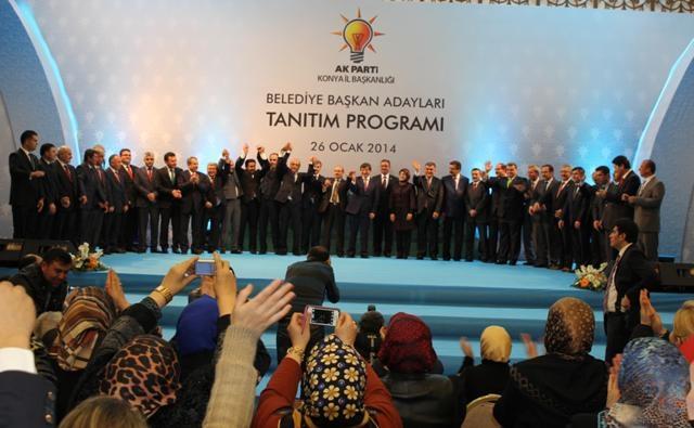 AK Parti Konya Belediye Başkan Adayları Tanıtım Toplantısı 24