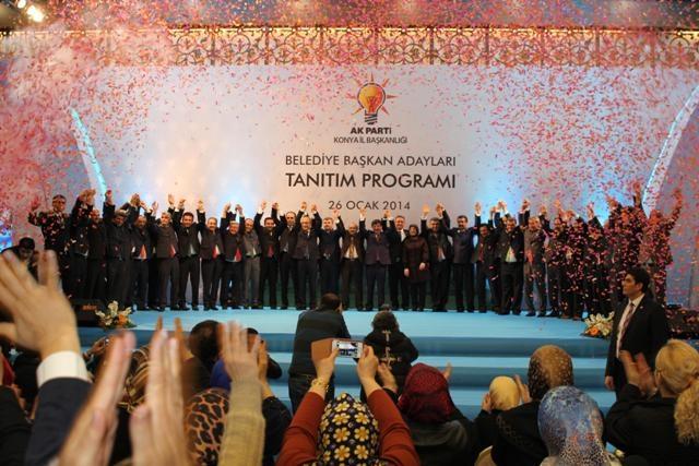 AK Parti Konya Belediye Başkan Adayları Tanıtım Toplantısı 25