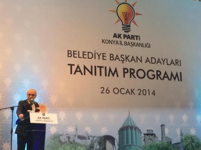 AK Parti Konya Belediye Başkan Adayları Tanıtım Toplantısı 9