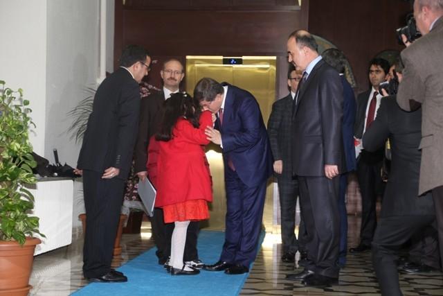 Dışişleri Bakanı Davutoğlu ve Bakan Elvan, Konya'da 11