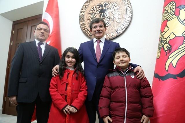 Dışişleri Bakanı Davutoğlu ve Bakan Elvan, Konya'da 12
