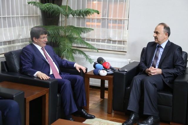 Dışişleri Bakanı Davutoğlu ve Bakan Elvan, Konya'da 13