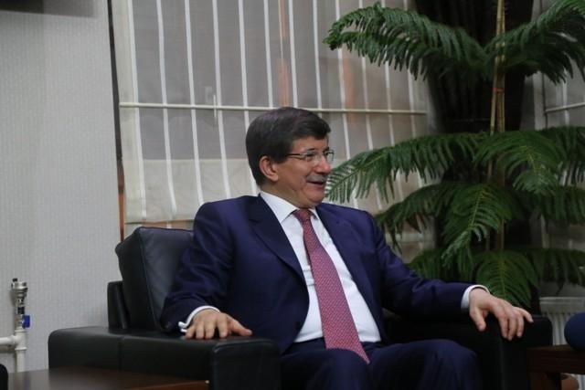 Dışişleri Bakanı Davutoğlu ve Bakan Elvan, Konya'da 14