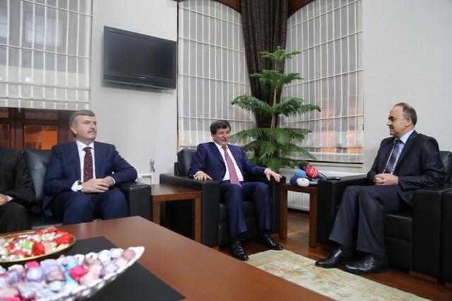 Dışişleri Bakanı Davutoğlu ve Bakan Elvan, Konya'da 15