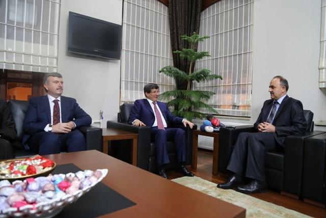 Dışişleri Bakanı Davutoğlu ve Bakan Elvan, Konya'da 16