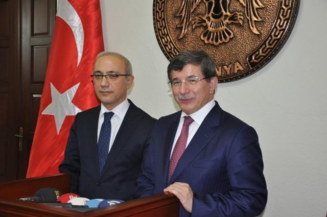Dışişleri Bakanı Davutoğlu ve Bakan Elvan, Konya'da 17