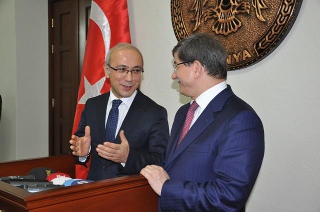 Dışişleri Bakanı Davutoğlu ve Bakan Elvan, Konya'da 18