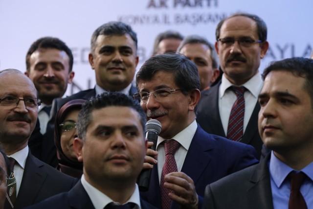 Dışişleri Bakanı Davutoğlu ve Bakan Elvan, Konya'da 2