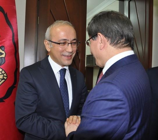 Dışişleri Bakanı Davutoğlu ve Bakan Elvan, Konya'da 21