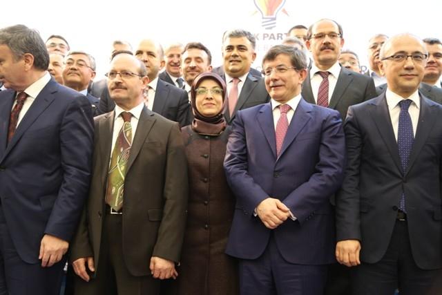 Dışişleri Bakanı Davutoğlu ve Bakan Elvan, Konya'da 3