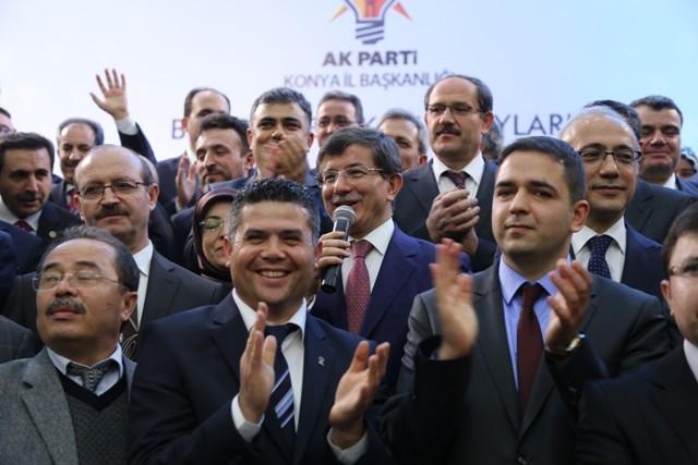 Dışişleri Bakanı Davutoğlu ve Bakan Elvan, Konya'da 6
