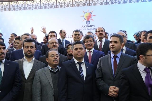 Dışişleri Bakanı Davutoğlu ve Bakan Elvan, Konya'da 7