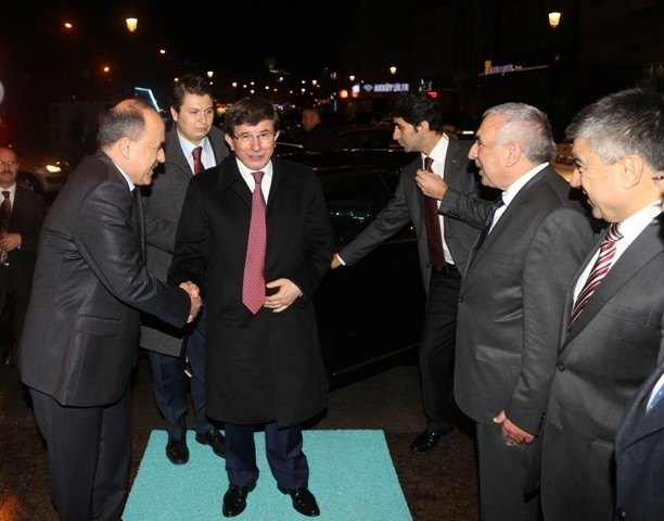 Dışişleri Bakanı Davutoğlu ve Bakan Elvan, Konya'da 8