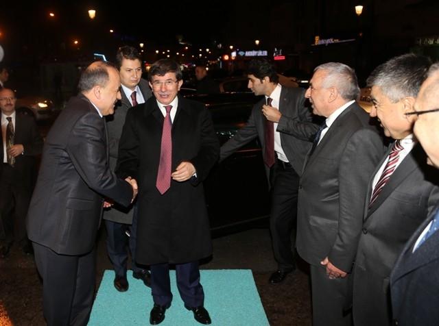 Dışişleri Bakanı Davutoğlu ve Bakan Elvan, Konya'da 9