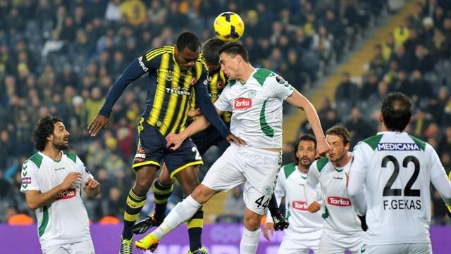 Fenerbahçe - Torku Konyaspor 1