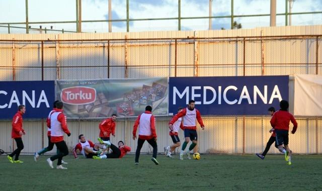 Torku Konyaspor'da Sivasspor maçı hazırlıkları 7
