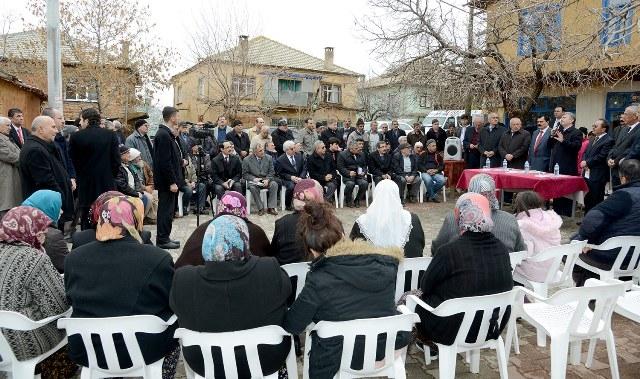 Akyürek, Ahırlı, Yalıhüyük ve Seydişehir'i ziyaret etti 11