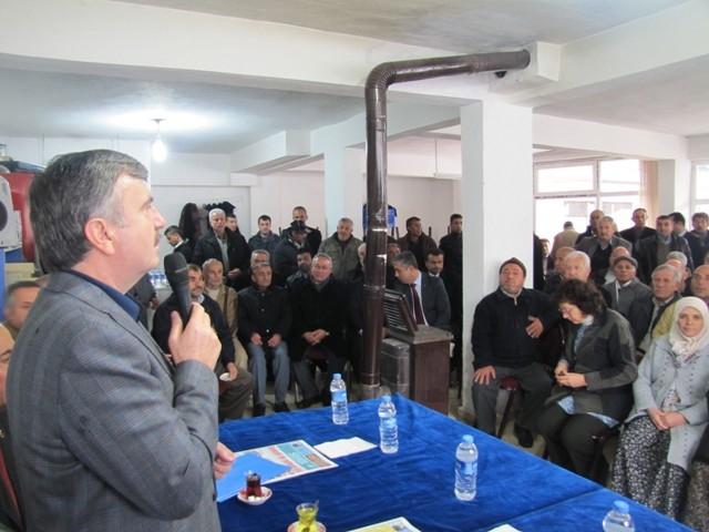 Akyürek, Ahırlı, Yalıhüyük ve Seydişehir'i ziyaret etti 4