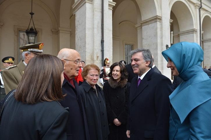 Cumhurbaşkanı Abdullah Gül İtalya'da 11