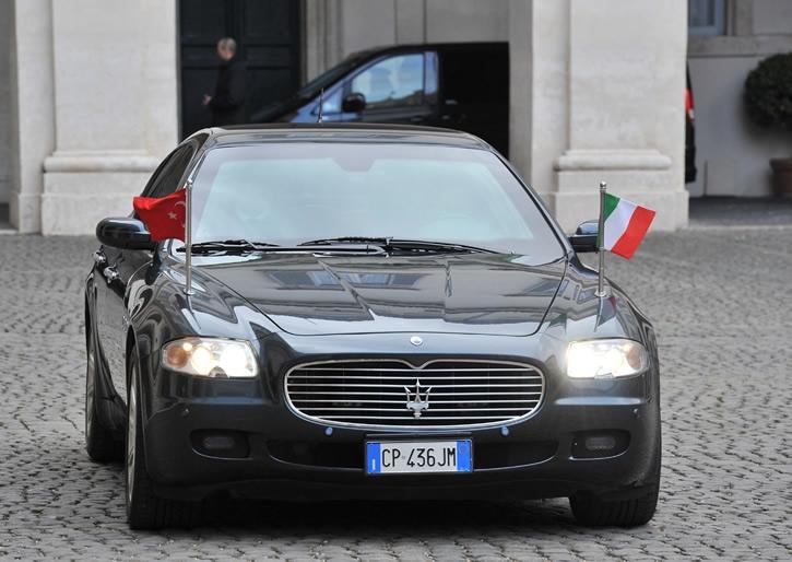 Cumhurbaşkanı Abdullah Gül İtalya'da 16
