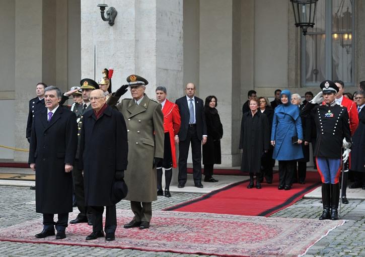 Cumhurbaşkanı Abdullah Gül İtalya'da 17