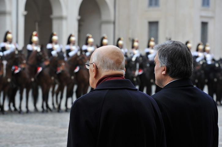 Cumhurbaşkanı Abdullah Gül İtalya'da 19