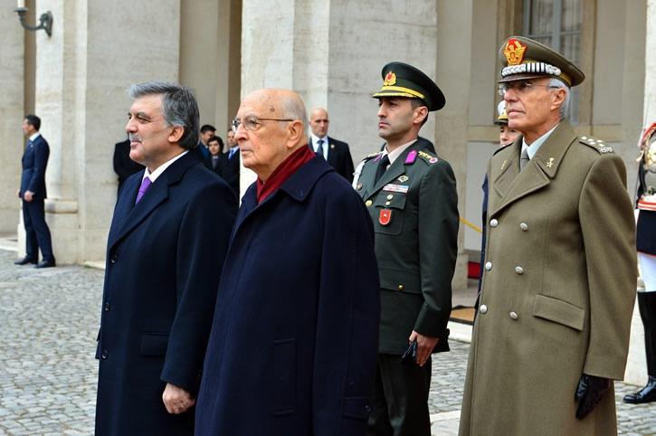 Cumhurbaşkanı Abdullah Gül İtalya'da 21