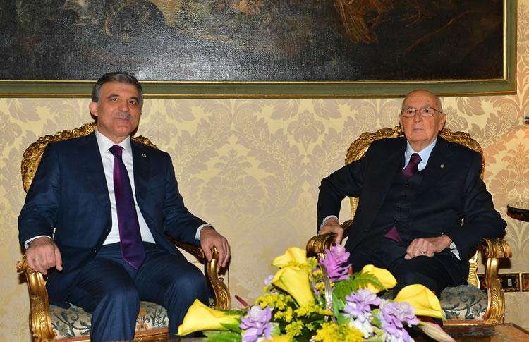 Cumhurbaşkanı Abdullah Gül İtalya'da 23