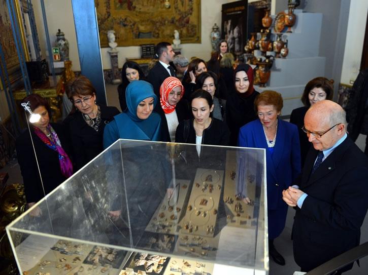 Cumhurbaşkanı Abdullah Gül İtalya'da 25