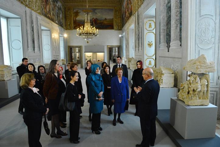 Cumhurbaşkanı Abdullah Gül İtalya'da 28