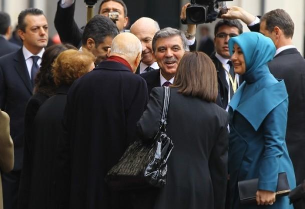 Cumhurbaşkanı Abdullah Gül İtalya'da 3