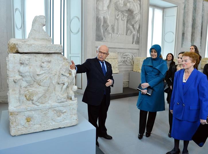 Cumhurbaşkanı Abdullah Gül İtalya'da 30