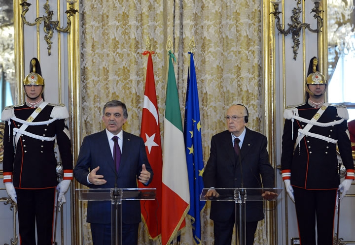 Cumhurbaşkanı Abdullah Gül İtalya'da 31