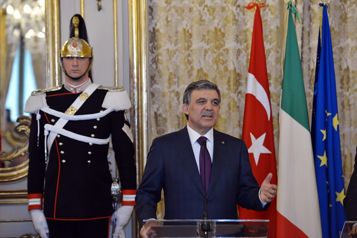 Cumhurbaşkanı Abdullah Gül İtalya'da 32