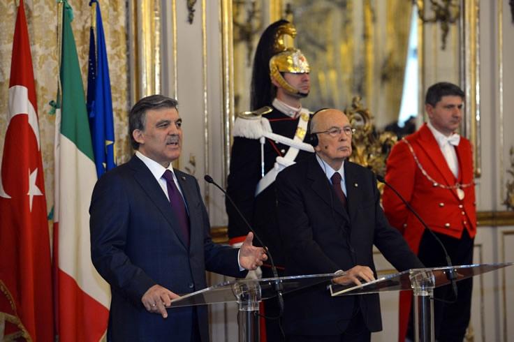 Cumhurbaşkanı Abdullah Gül İtalya'da 34