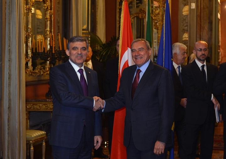 Cumhurbaşkanı Abdullah Gül İtalya'da 36