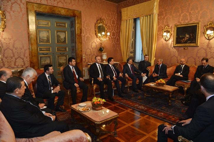 Cumhurbaşkanı Abdullah Gül İtalya'da 37
