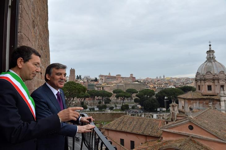 Cumhurbaşkanı Abdullah Gül İtalya'da 39