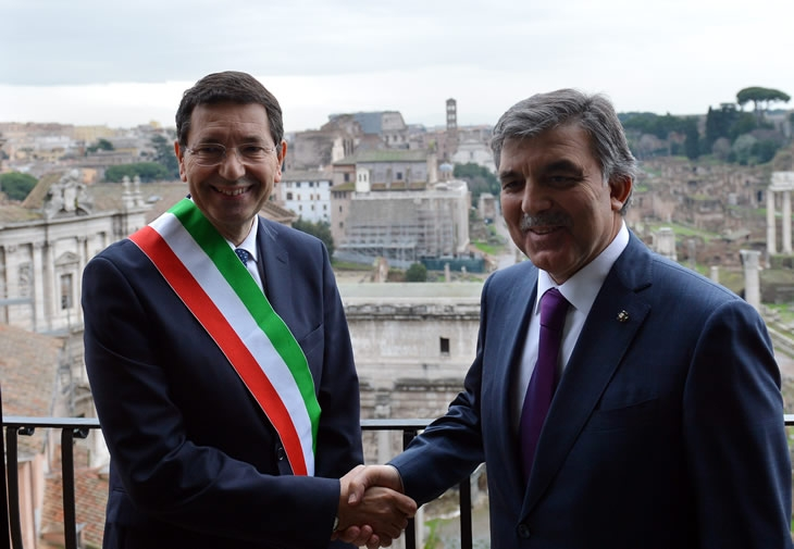 Cumhurbaşkanı Abdullah Gül İtalya'da 41