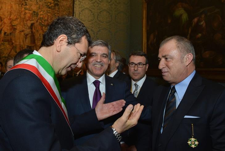 Cumhurbaşkanı Abdullah Gül İtalya'da 42
