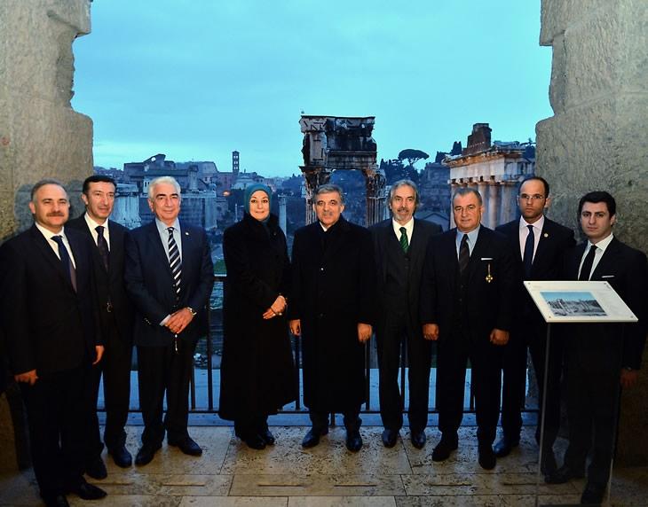 Cumhurbaşkanı Abdullah Gül İtalya'da 49